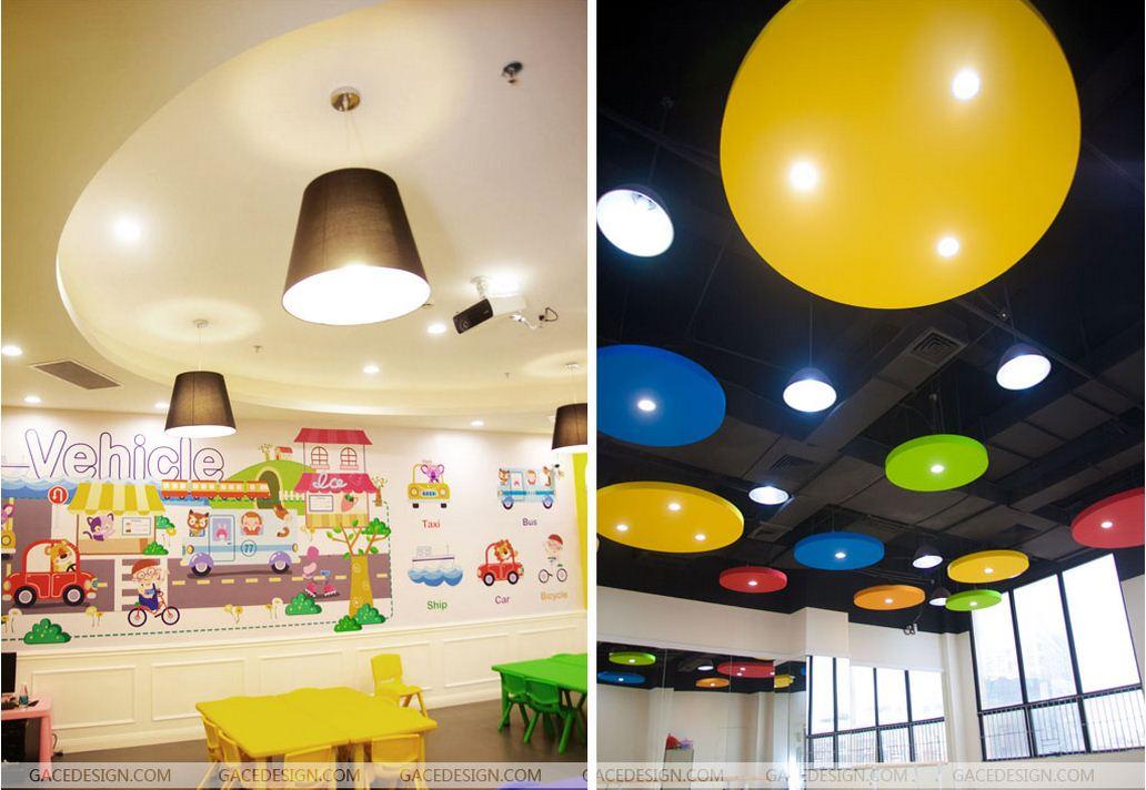 早教空间设计_幼儿园装修灯光设计有哪些地方要注意  早教空间设计_幼儿园装修灯光设计有哪些地方要注意 由于幼儿园面对的用户群不一样,幼儿园的小孩都是6岁以下的幼儿,各方面还在发育中,特别是视力也发育也不成熟,如果幼儿园装修时,灯光不注意或者不够合理,可能就会造成光污染,太杂太亮太刺眼的灯光都会对幼儿的视力发育造成不良的影响。因此幼儿园装修灯光设计要注意以下几个方面: 1、考虑功能和色调搭配 幼儿园装修时应根据不同空间、场合及功能,选择不同的照明方式。例如:小孩休息区灯光应该比较温馨,教室学习区灯光要求明