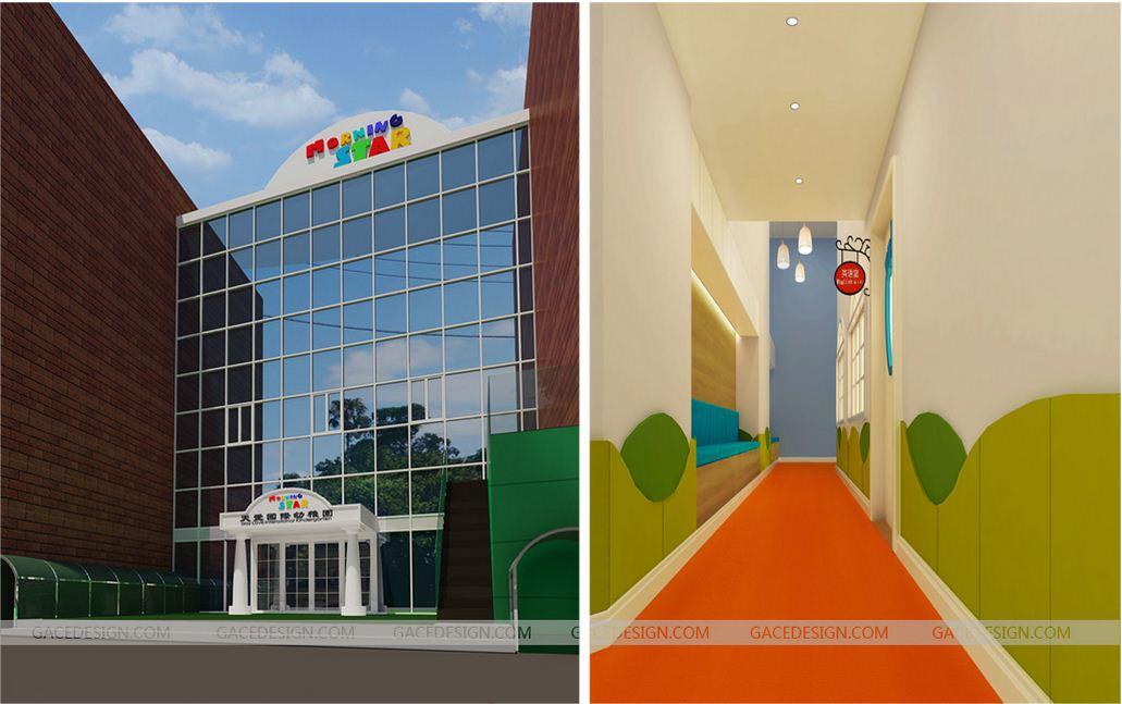 儿童室内设计|环保是幼儿园装修装饰设计的首要条件
