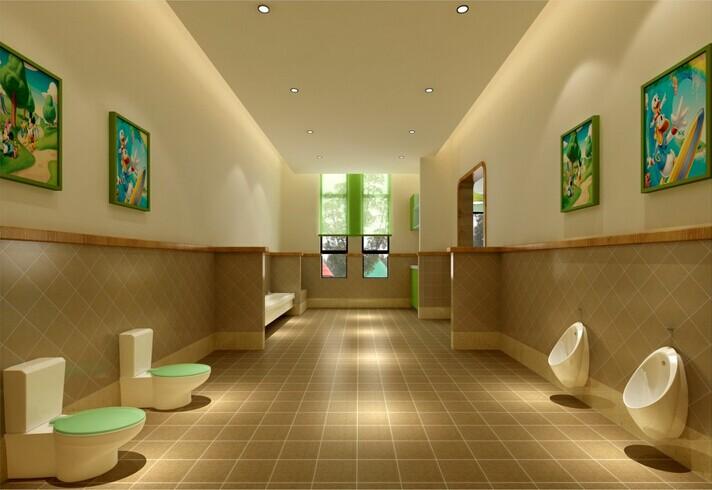 幼儿园卫生间设计装饰