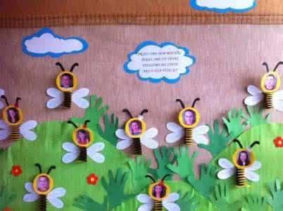 幼儿园装修设计 | 幼儿园墙面花边装饰