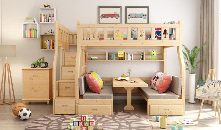 三个方面入手给大家讲讲如何选购儿童床