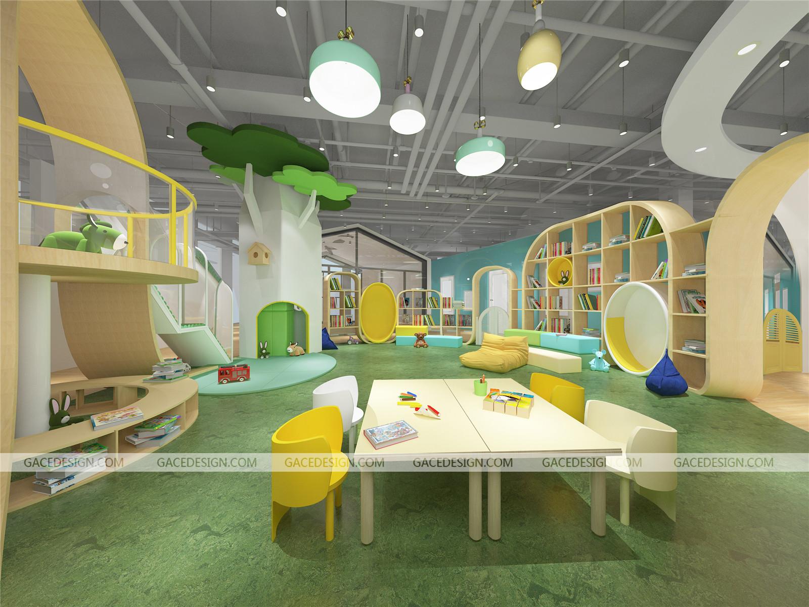 推荐小朋友最喜欢的幼儿园装修设计四大主题