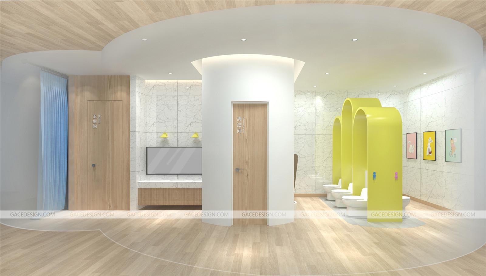 幼儿园卫生间设计要符合使用特点!